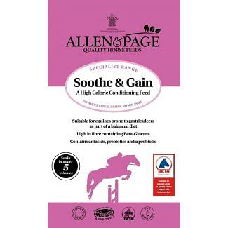 Allen & Page Sooth & Gain Conditioning Horse Feed 15kg - Chelford Farm Supplies