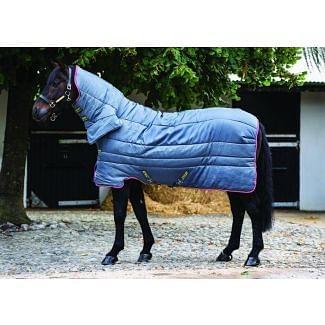 Horseware Amigo All-In-One Heavy Weight 350g Insulator Rug Grey / Purple