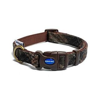 Ancol Adjustable Dog Collar Country Check