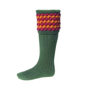 House of Cheviot Mens Angus Spruce Socks