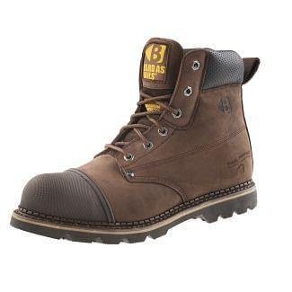 Buckler Steel Toe/Midsole Boot Brown B301SM