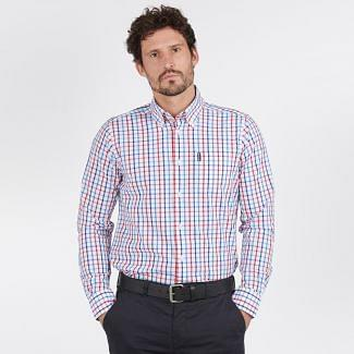 Barbour Mens Tattersall Tailored Shirt