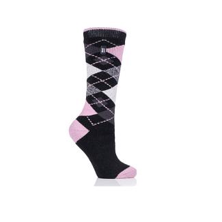 Heat Holders Ladies Bedale Argyle Long Thermal Socks - Chelford Farm Supplies