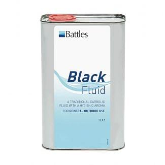 Battles Black Fluid Disinfectant