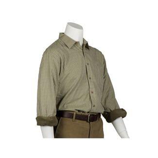 Bonart Mens Grendon Fleece Lined Shirt - Chelford Farm Supplies
