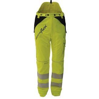 Arbortec Breatheflex Type C Class 1 Chainsaw Trousers Hi Vis Yellow