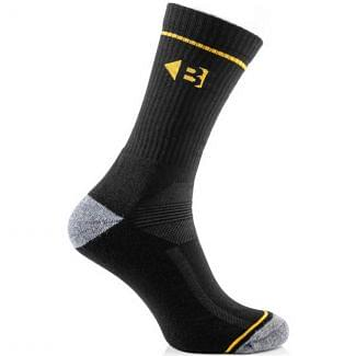 Buckler Mens Coolmax Boot Socks Black - Chelford Farm Supplies