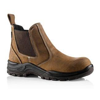 Buckler Nubuckz DEALERZ Waterproof Safety Boots