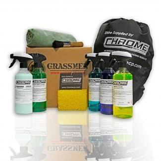 Chrome Northwest Grassmen Interior Cleaning Kit