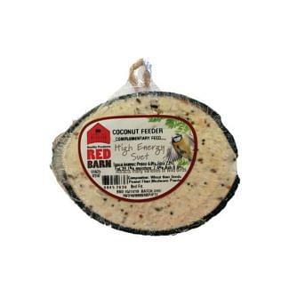 Red Barn Suet Filled Half Bird Coconut | Chelford Farm Supplies