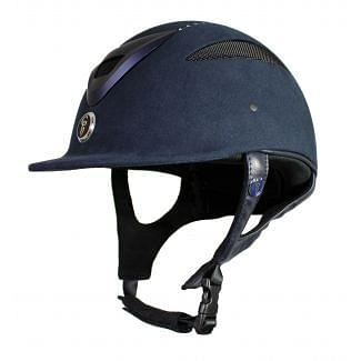 Gatehouse Conquest MKII Riding Hat Soft Finish Navy