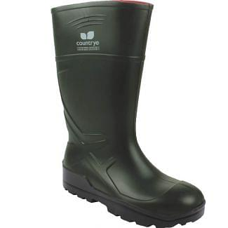Country UF PU Safety Wellington Boots