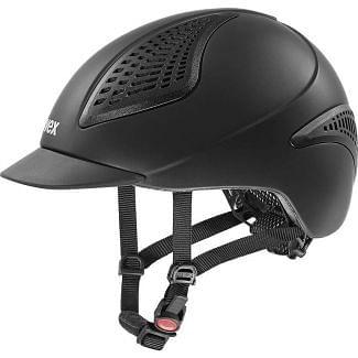 Uvex Exxential II Riding Helmet Black