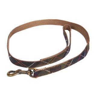 Barbour Tartan Webbing Dog Lead | Chelford Farm Supplies