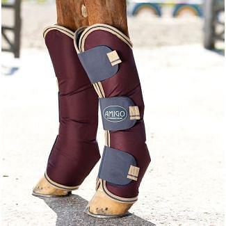 Horseware Amigo Ripstop Travel Boots Fig/Navy & Tan