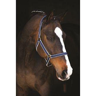 Horseware Amigo Headcollar Navy/Silver