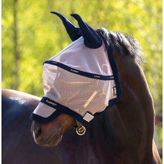 Horseware Rambo Plus Flymask Oatmeal/Navy