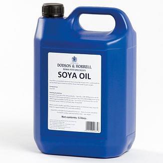 Dodson & Horrell Soya Oil Horse Supplement 5L - Chelford Farm Supplies