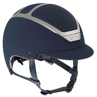 KASK Dogma Chrome Light Riding Helmet Navy/Silver
