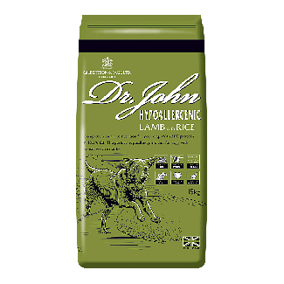 Dr John Hypoallergenic Lamb & Rice Dog Food 15kg   Chelford Farm Supplies