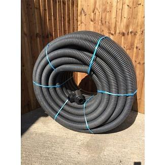 Cherry Pipes Perforated HDPE Land Drain 80mm