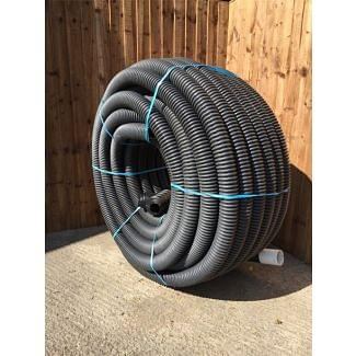 Cherry Pipes Perforated HDPE Land Drain 160mm x 35M