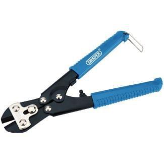 Draper Tools 210mm Straight Head Centre Cut Mini Bolt Cutter (36092)