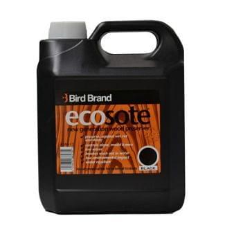Bird Brand Ecosote Wood Preserver Black 4L