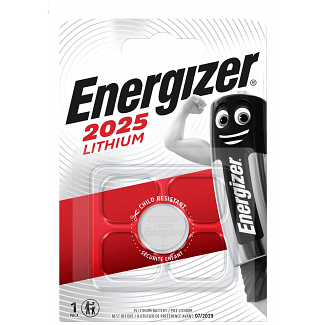 Energizer CR2025 Lithium Coin Cell Battery