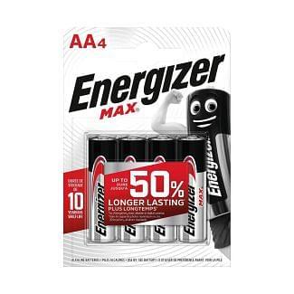 Energizer MAX AA Batteries 4 Pack | Chelford Farm Supplies