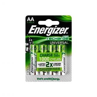 Energizer Rechargeable AA Batteries 4 Pack | Chelford Farm Supplies