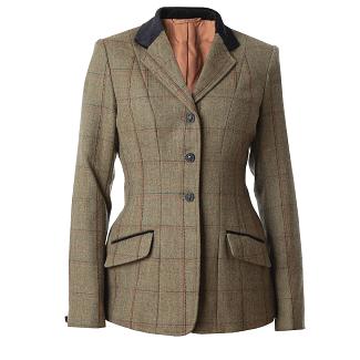 Equetech Ladies Launton Deluxe Tweed Jacket