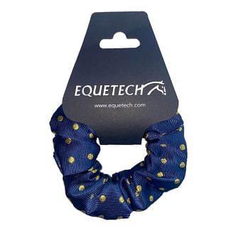 Equetech Polka Dot Hair Scrunchie | Chelford Farm Supplies