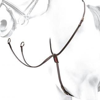 Equipe Leather Collier Martingale | Chelford Farm Supplies