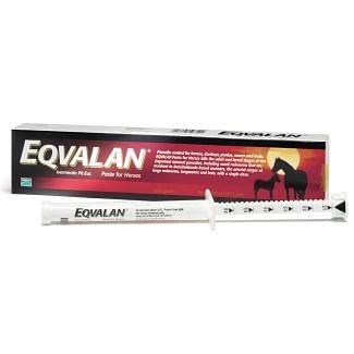 Eqvalan Standard Oral Paste Horse Wormer - Cheshire, UK