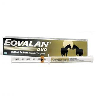 Eqvalan Duo Oral Paste Horse Wormer - Cheshire, UK