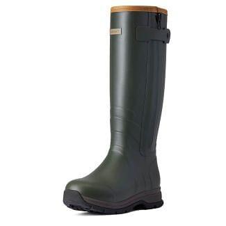Ariat Ladies Burford Insulated Zip Wellington Boots