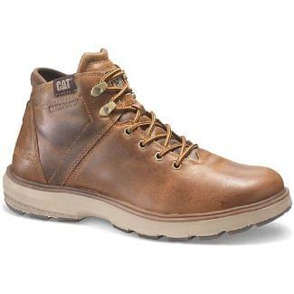 Caterpillar Mens Factor Waterproof TX Boots Brown