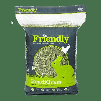 Friendship Estates Friendly ReadiGrass Small Animal Food 1kg - Chelford Farm Supplies