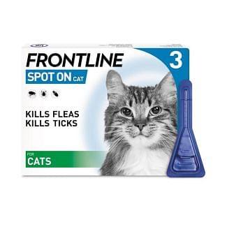 Frontline Spot On Flea Treatment For Cats | Chelford Farm Supplies