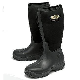 Grubs Frostline Neoprene Wellington Boots Black