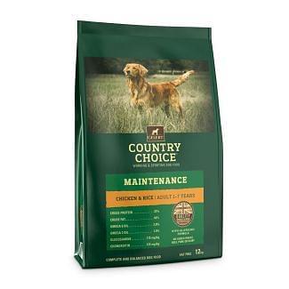 Gelert Country Choice Maintenance Chicken & Rice Dog Food 12kg