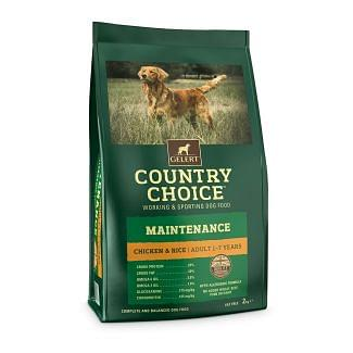 Gelert Country Choice Maintenance Chicken & Rice Dog Food 2kg