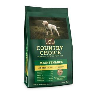 Gelert Country Choice Maintenance Puppy Food 2kg