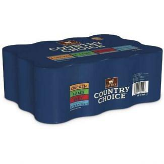 Gelert Country Choice Mixed Variety Cat Food 12 x 400g