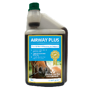 Global Herbs Airway Plus Liquid 1L - Chelford Farm Supplies