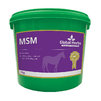 Global Herbs MSM 1kg - Chelford Farm Supplies