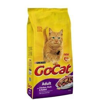 Go Cat Complete Adult Duck Rabbit & Chicken Cat Food 10kg