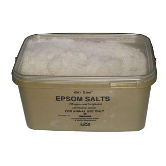 Gold Label Epsom Salts 2.5kg - Chelford Farm Supplies