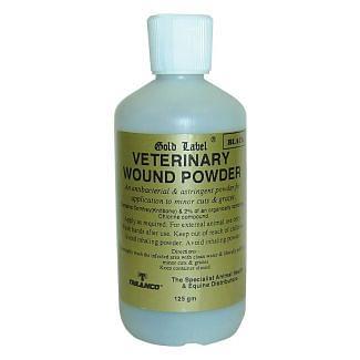 Gold Label Veterinary Wound Powder 125g - Chelford Farm Supplies